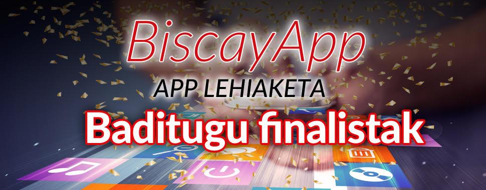 BiscayApp-k  8 app finalistak hautatu ditu