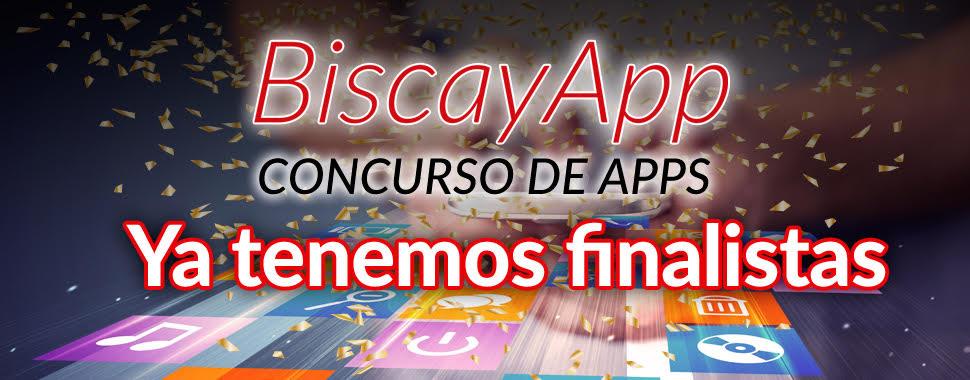 Seleccionadas las 8 apps finalistas que optan a los premios BiscayApp