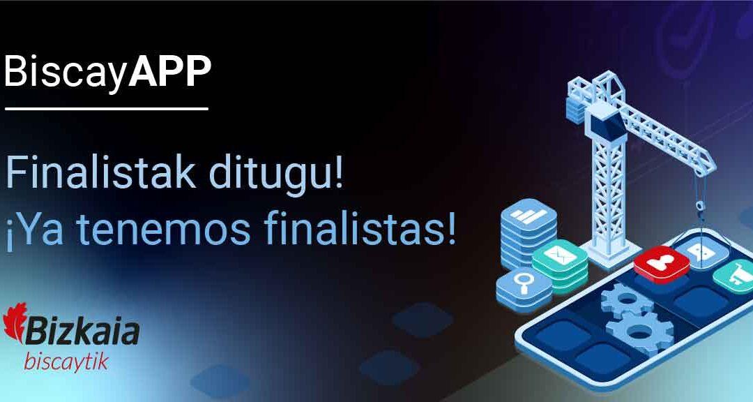 BiscayApp 2020ko 10 proiektu finalistak aukeratu dituzte